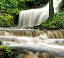Raging Scaleber Force Falls by Chris Frost Photography