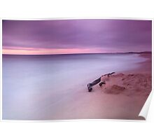 Monterey Beach Sunset Poster