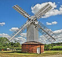 Stanton Windmill,Mill Farm,Suffolk by dellray