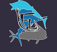 Offshore Fish Back T-Shirt Unisex T-Shirt