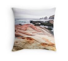 Point Lobos State Park Throw Pillow
