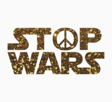 gold stop wars Kids Tee