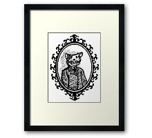 Monsieur Mousestache Framed Print