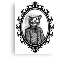 Monsieur Mousestache Canvas Print