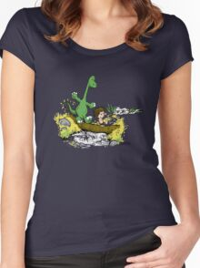 River Friends Women's Fitted Scoop T-Shirt