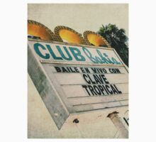 Club Bahia Latin Night Club Retro Sign Kids Clothes