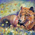 Dandelion Bear by twopoots