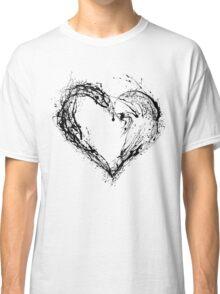 Abstract Black Heart  Classic T-Shirt