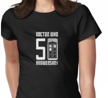 Doctor Who Anniversary! /on dark colours/ Womens Fitted T-Shirt