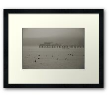 Princeton-By-The-Sea Framed Print