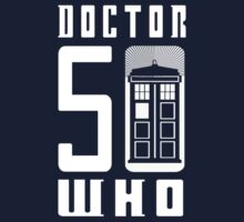 50 YEARS DOCTOR WHO //on dark colours// Baby Tee