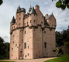 Craigievar Castle, Aberdeenshire, Scotland. by Alan Caldwell
