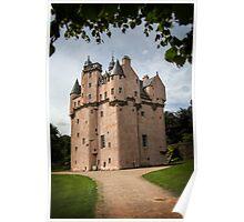 Craigievar Castle, Aberdeenshire, Scotland. Poster