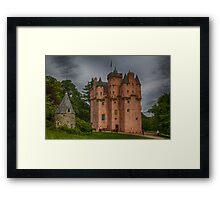 Craigievar Castle, Aberdeenshire, Scotland. Framed Print