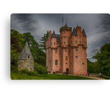 Craigievar Castle, Aberdeenshire, Scotland. Canvas Print
