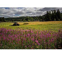 Balmoral Tractor Photographic Print