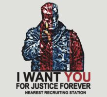 I want YOU for Justice Forever by ikarus³ .