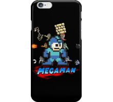 Megamans - Power ups iPhone Case/Skin