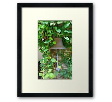 The Bell with the Blue Rope  Framed Print