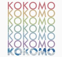 KOKOMO Comedy Logo T-Shirt by JMorgs
