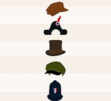 Les Mis Hats by georgiasdesigns
