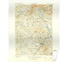 USGS TOPO Map New Hampshire NH Gilmanton 330046 1927 62500 Poster