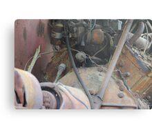 Machine Engine Metal Print