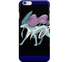 Pokemon Suicune Black & Blue iPhone Case/Skin
