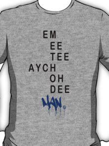 EMEETEEAYCHOHDEEMAN - BLUE T-Shirt