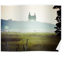 Cape Cod Railroad Bridge Poster