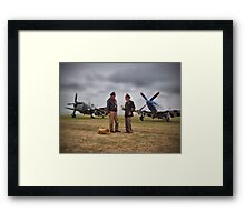Here Today ! Gone Tomorrow ! Framed Print