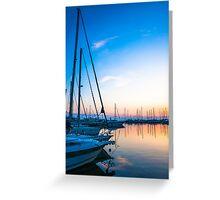 Harbor 1* Greeting Card