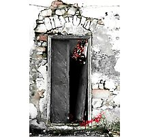 Cretan door no.3c Photographic Print