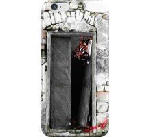 Cretan door no.3c iPhone Case/Skin