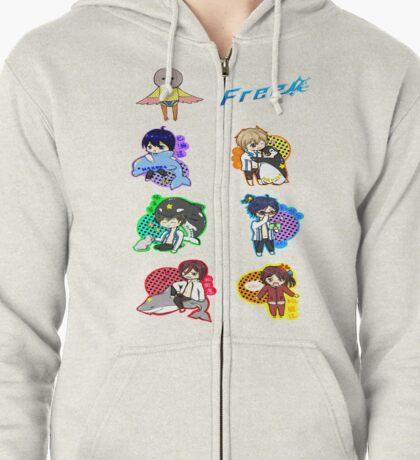 Free! Anime Zipped Hoodie