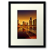 Eagle Dusk... Framed Print