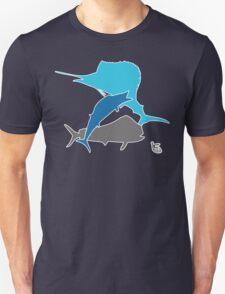 Offshore fishing Unisex T-Shirt