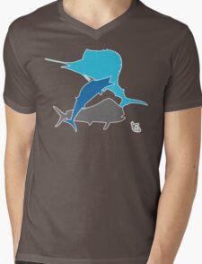 Offshore fishing Mens V-Neck T-Shirt