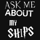 Ask about my ships multifandom shirt by CharlotteTardis