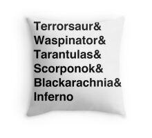 Predacons (Season 1) Throw Pillow