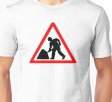 Man at Work Symbol Unisex T-Shirt