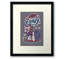 My Little Pinny Framed Print