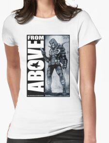 From Above Comic Book 05 Womens Fitted T-Shirt