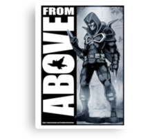 From Above Comic Book 05 Canvas Print
