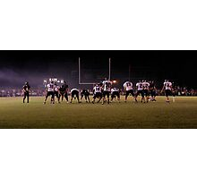 Gridiron Battle Photographic Print