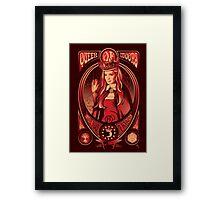Queen of Moons Framed Print