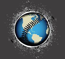 It's A Baseball World by KAMonkey