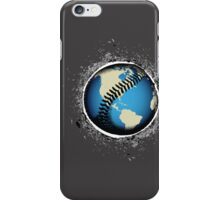 It's A Baseball World iPhone Case/Skin