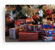 A Time for Giving & Sharing Canvas Print