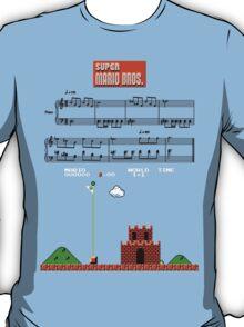 Super Mario Bros. Castle Complete Theme T-Shirt